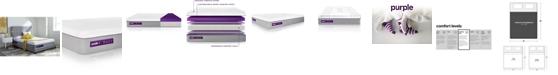 "Purple .4 Hybrid Premier 13"" Mattress - California King"