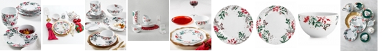 Martha Stewart Collection Royal Blush 12-Pc. Dinnerware Set, Service for 4, Created for Macy's