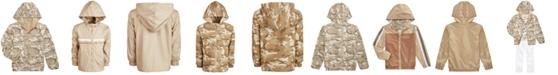 Epic Threads Little Boys Desert Camo Reversible Water-Resistant Hooded Windbreaker, Created for Macy's
