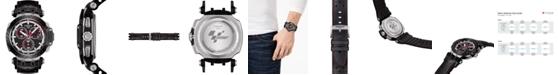 Tissot Men's Swiss Chronograph T-Race MotoGP 2020 Black Rubber Strap Watch 48mm - Limited Edition