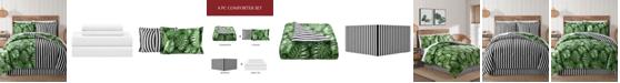 Sunham Fairfield Square Bermuda Palm 8Pc Full Comforter Set