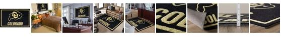 "Luxury Sports Rugs Colorado Colco Black 1'8"" x 2'6"" Area Rug"