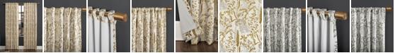 "Scott Living Aubry 52"" x 84"" Shimmering Floral Blackout Curtain Panel"