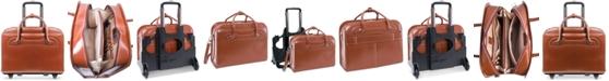 McKlein Willowbrook Detachable Wheeled Briefcase