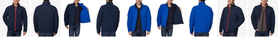 Nautica Men's Mid-Weight Stretch Reversible Puffer Jacket