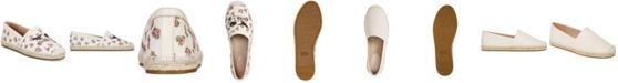 COACH Casey Slip-On Espadrille Flats