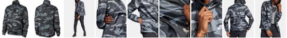 Nike Men's Sportswear Camo Windbreaker