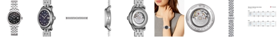 Tissot Women's Swiss Automatic Le Locle Diamond-Accent Stainless Steel Bracelet Watch 29mm