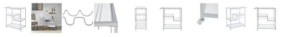 Furniture Janice Bar Cart, Quick Ship