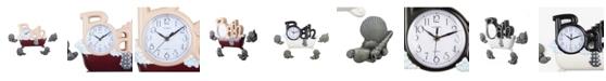 Stilnovo 5-Piece Bathtub Shells Wall Clock Set