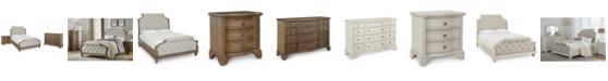 Klaussner Trisha Yearwood Jasper County Upholstered Bedroom Collection 3-Pc. Set (Queen Bed, Nightstand & Dresser)