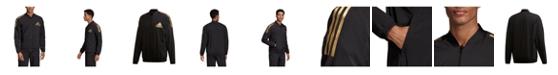 adidas Men's Metallic Accented Track Bomber Jacket