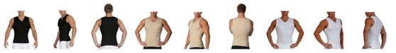 Instaslim Insta Slim Men's Compression Sleeveless V-Neck T-Shirt