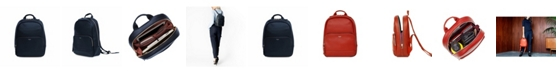 Knomo London Mini Mount Genuine Leather Tablet Backpack
