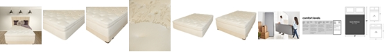 "Paramount Nature's Spa by Jazmine 17"" Euro Top Ultra Plush Mattress Set- Queen Split"