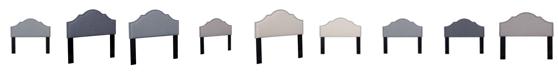 Us Pride Furniture Neelyville Upholstered Panel Headboard