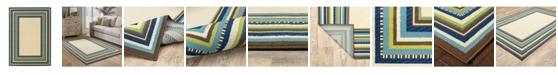 """JHB Design Bella BEL01 Ivory 6'7"""" x 9'6"""" Area Rug"""