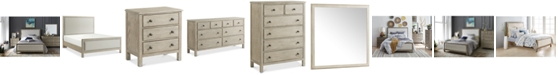Furniture Parker Upholstered Bedroom Furniture Collection, Created for Macy's