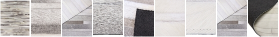 Hotel Collection Hide HD1 14'' Square Swatch, Created for Macy's