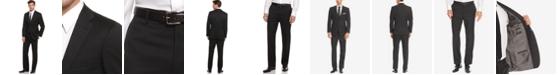 Hugo Boss BOSS Pasolini Black Solid Suit