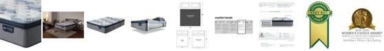 "Serta iComfort by Blue Fusion 300 14"" Hybrid Plush Euro Pillow Top Mattress - King"