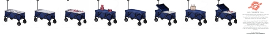 Picnic Time Oniva™ by Blue Adventure Wagon Elite Portable Utility Wagon with Table & Liner