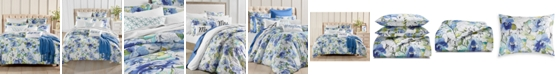 Charter Club Sketch Floral 300 Thread Count Bedding Collection, Created for Macy's