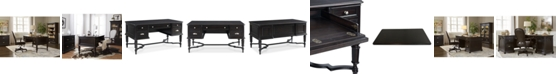 Furniture Clinton Hill Ebony Home Office Writing Desk, Created for Macy's