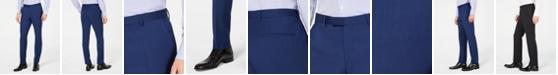 Hugo Boss Men's Slim-Fit Stepweave Suit Pants