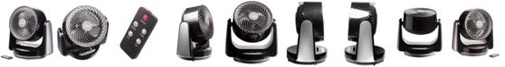 """Ozeri Brezza III Dual Oscillating 10"""" High Velocity Desk Fan"""