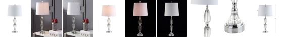 JONATHAN Y Graham Crystal Led Table Lamp