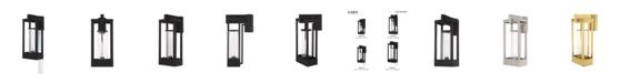 Livex Delancey 1-Light Outdoor Post Top Lantern