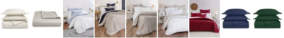 Charter Club Supima Cotton 550-Thread Count 3-Pc. Full/Queen Duvet Cover Set, Created for Macy's