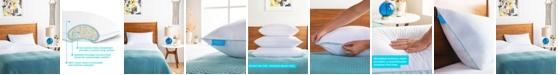 Linenspa Gel Encased Shredded Memory Foam Pillow, Standard