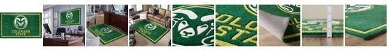 """Luxury Sports Rugs Colorado State Colcs Green 5' x 7'6"""" Area Rug"""