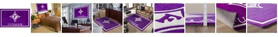 "Luxury Sports Rugs Furman Colfu Purple 5' x 7'6"" Area Rug"