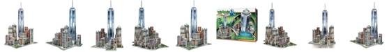 Wrebit Wrebbit - 3D New York World Trade 3D Puzzle, 875 Pieces