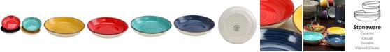 """Color Speckle 4 Piece 8.25"""" Bowl Set"""