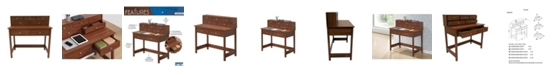 RTA Products Techni Mobili Elegant Writing Desk