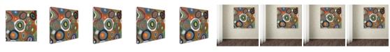 "Trademark Global Sylvie Demers 'Carisma' Canvas Art - 35"" x 35"" x 2"""