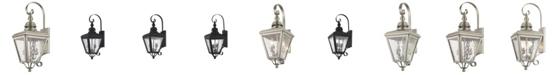 Livex Cambridge 2-Light Outdoor Wall Lantern