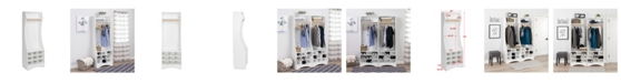 Prepac  Compact Wardrobe with Shoe Storage