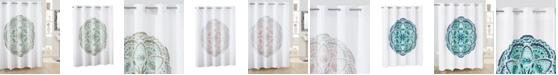 Hookless Henna Medallion Shower Curtain