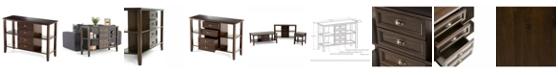 Simpli Home Burlington Sofa Table