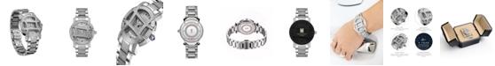 Jbw Women's Olympia Platinum Series Diamond (2 1/2 ct. t.w.) Stainless Steel Watch, 38Mm