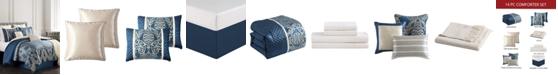 Hallmart Collectibles Barberton 14-Pc. Full Comforter Set
