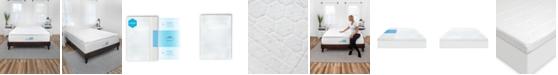 SensorGel Sensor Gel Smart Zone 3-Inch Quilted Memory Foam Mattress Topper - Twin