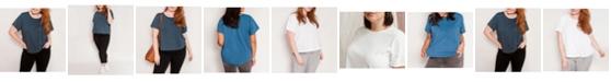 Ori Women's Plus Size Short Sleeve Signature Perfect Tee