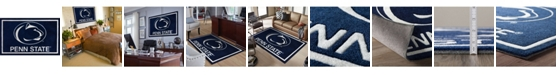 """Luxury Sports Rugs Penn State Colps Navy 5' x 7'6"""" Area Rug"""
