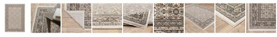 JHB Design Kumar Kum07 Ivory and Gray 2' x 3' Area Rug